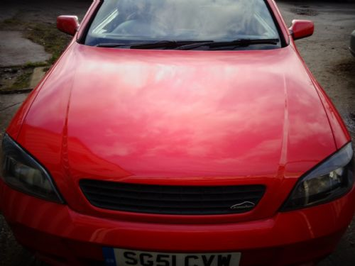 ASTRA GSI BONNET IN FLAME RED